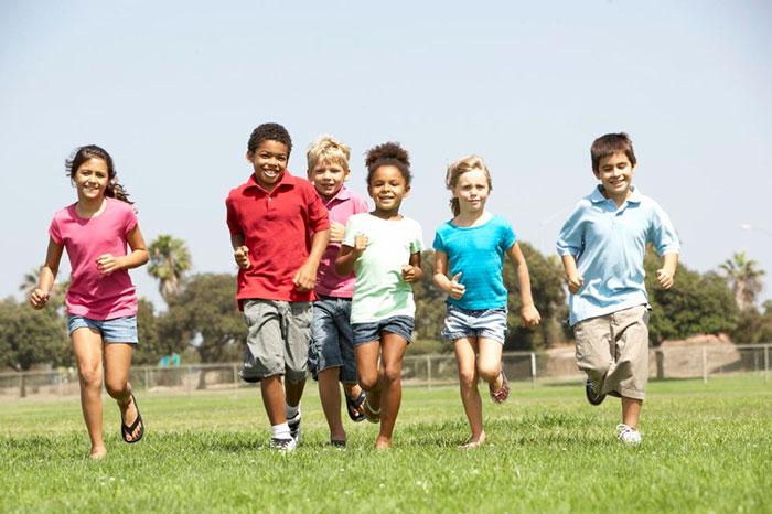 Các trò chơi vận động giúp trẻ phát triển toàn diện